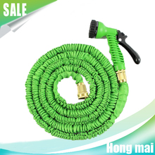 Expanding Garden Water Hose Pipe,collapsible water hose/flexible hose nozzle for irrigation with brass fittings