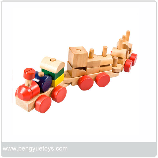OEM welcome kids toy wooden mini toy train