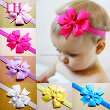 Bulk hair accessories factory fancy hair bows sweat flower baby hair headband for kids