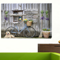 China LED Wall Decoration Canvas Painting with Lavender