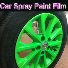 Fluorescent Temporary Car Auto Window Wheel Rim Wall Fabric rubber Paint/ UV Waterproof Washable/Best Custom Painting Modding