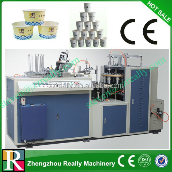 computer control drink water paper cup making machine