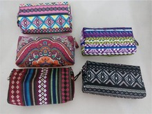 New Design Good Quality Bohemian Style Cosmetic Bag Handbag Nice Looking Makeup Pouch for Women