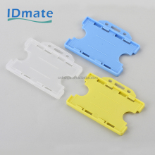 Plastic PP ID card name badge holder