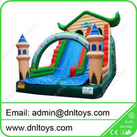 PVC Inflatable slide,tph inflatable pool slides for inground pools