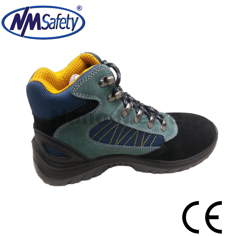 NMSAFETY pure men leather shoes