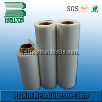 Double Side PA Hot Melt Adhesive Film For Car Interior No Sew