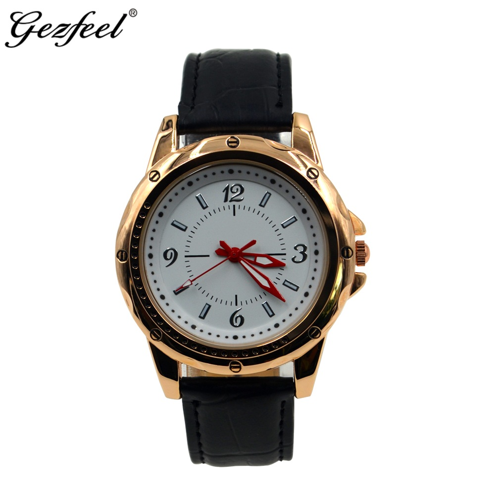 2018 new Luxury Men Wrist Watch Gold Plated Japan quartz movement Men Watch