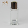 Made in china spray glass car bottle for perfume 50ml