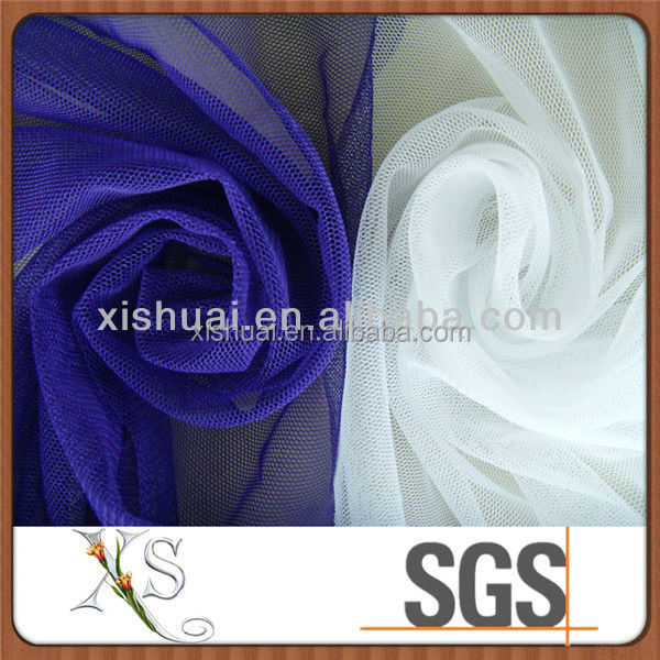 Jacquard 100% Polyester Mesh Fabric For Laundry Bag