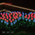 Falawo multicolor rgb flex narow rose led light strips