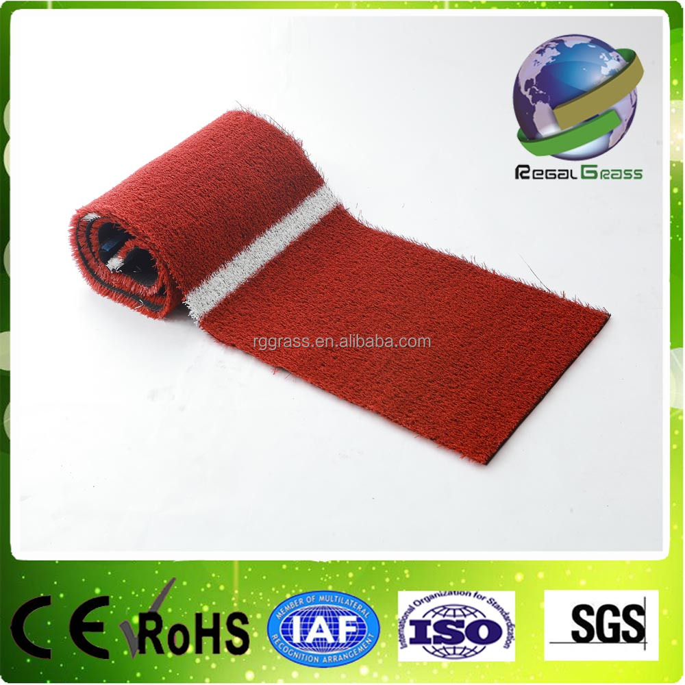 Running athletic tracks red artificial grass synthetic turf