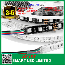 led strip 5050 rgb,DC12V/24V,5M,magic digital dream color rgb led strip