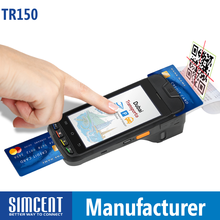 EMV PCI Handheld POS /Smart Card Reader with NFC /Thermal Printer/Barcode Scanner