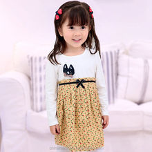 MS60150C fancy dress for kids fashion latest fall casual wear cute kids dress