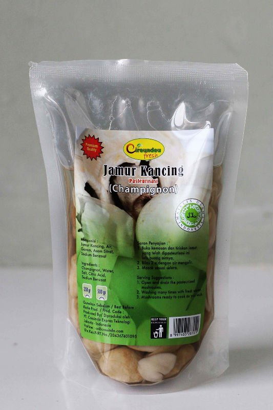 Mushroom Processed in 250gr pouch
