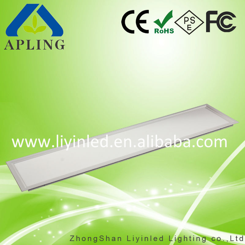 Factory Sale 36W 45W Square Led Panel Light 1200x300 for Office Lighting