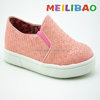 Good quality girls new design latest canvas shoes for baby