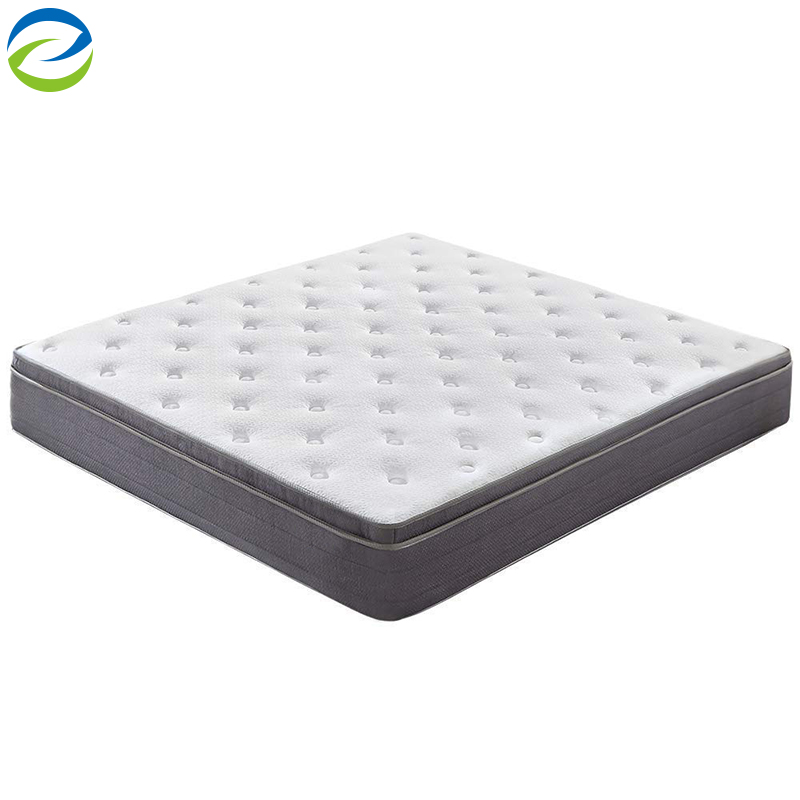 High quality top gel memory foam mattress packet spring hybrid certified environmental mattress - Jozy Mattress | Jozy.net