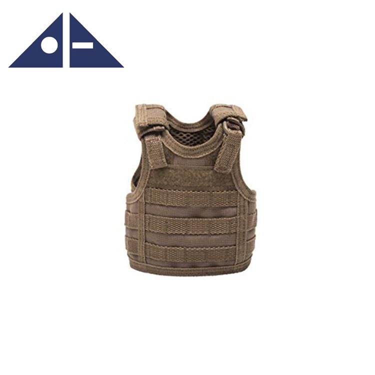 Sports & Entertainment Independent Tactical Beer Military Molle Vest Mini Miniature Wine Bottle Cover Vest Beverage Cooler Adjustable Shoulder Straps