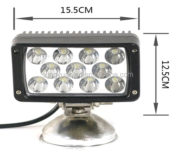 33W Sqaure working light , offroad and truck led working lamp , daytime running led light of tractor