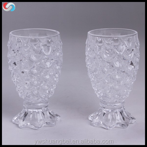 Decoration Clear High Quality Unbreakable Crystal Juice/Beer/Wine Glass Cup