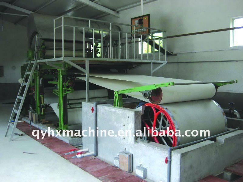 small model paper mill for sale
