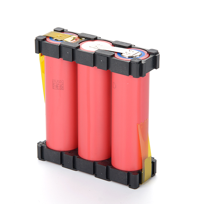 OEM Service 1S3P Rechargeable 3.7V 12000mah 18650 Lithium Li-ion Battery Pack for Drone/E-fan/Flashlight