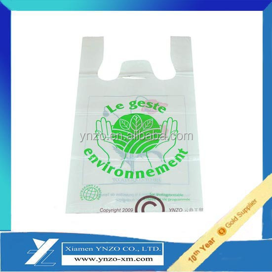 shopping plastic bags grocery /biodegradable plastic bags