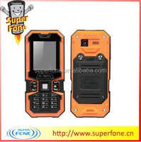 Hot sale model LM126 1.8 inch 168 hours long standby time Outdoor Tough Waterproof Mobile phone
