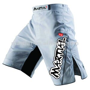 Custom professional Sublimation Fight Sports Wears Plain mma shorts wholesale