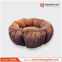 Fashion Round Memory-Foam Dog Bed round beds