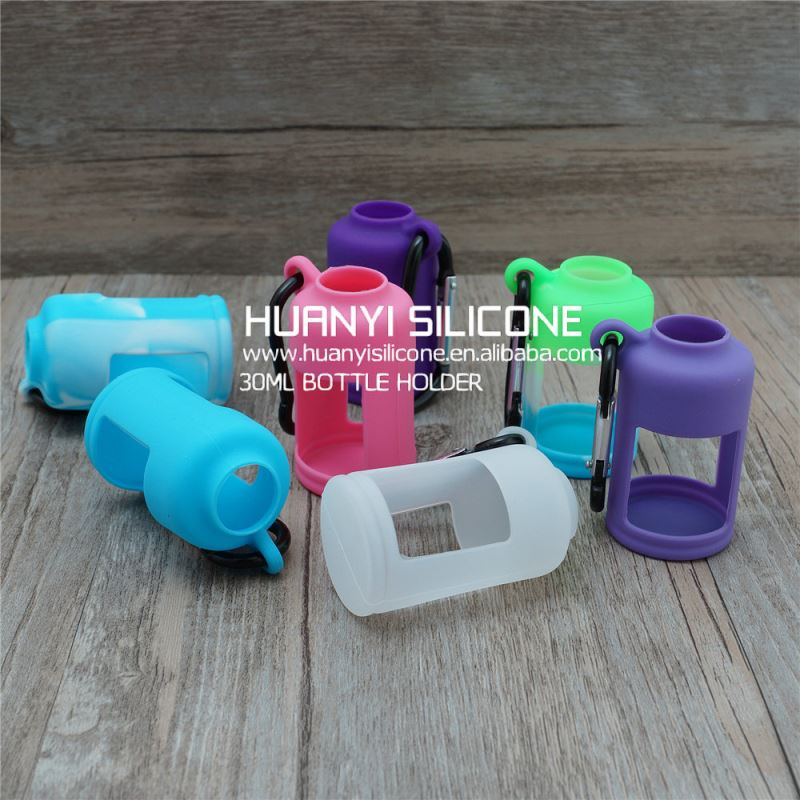 19 colors silicone case/sleeve/cover for e liquid bottle dekang e liquid liking e liquid liking e-liquid
