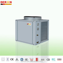 EVI Air to water heat pump R407c guangzhou deron solar air conditioner hot water three in one Air to water heat pump