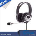Specialized telephone headset for call center Profession telephone headset for call center with rj11/usb/2.5/3.5mm DC plug