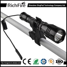 torch hunting flashlight,red led hunting flashlight torch mount,hunting flashlight trustfire