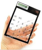 Solar power Touch screen scientific calculator