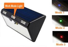 Mini PIR Motion Sensor solar led lights outdoor with 24 LED