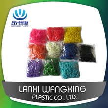 China Manufacturer DIY Colorful Cheap Rubber Loom Bands