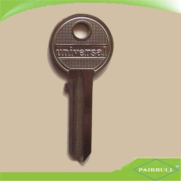 wholesale high quality door master key steel iron colored blank keys