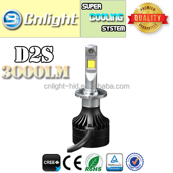 lighters wholesale from china Cnlight big factory for led headlight bulb D1s D2s D3s D4s 5000k