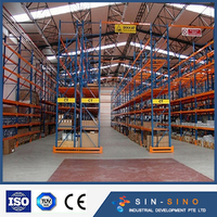 Colourful Versatile Foldable adjustable warehouse cantilever racking