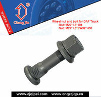 DAF wheel nut and bolt