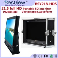BESTVIEW Camera Monitor 3G-SDI Input 1920* 1080 Physical Resolution for Broadcast Field Monitor 21 inch