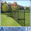Practical Aluminum fence1.5m* 2.4m wrought iron fence with steel tube