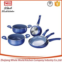 hot sale high quality 2016 new product aluminum german cookware set stainless steel