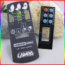 Control panel sticker or remote control sticker