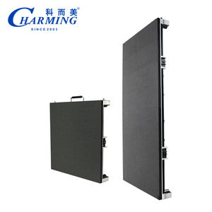 Indoor/outdoor P3 pitch curved led display screen for advertising