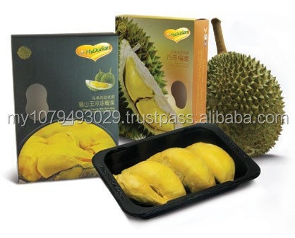 Malaysia Frozen Durian Seed Pulp - MUSANG KING D197/ D24