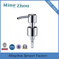 MZ-D05 stainless steel lotion pump with long nozzle for for perfume bottle